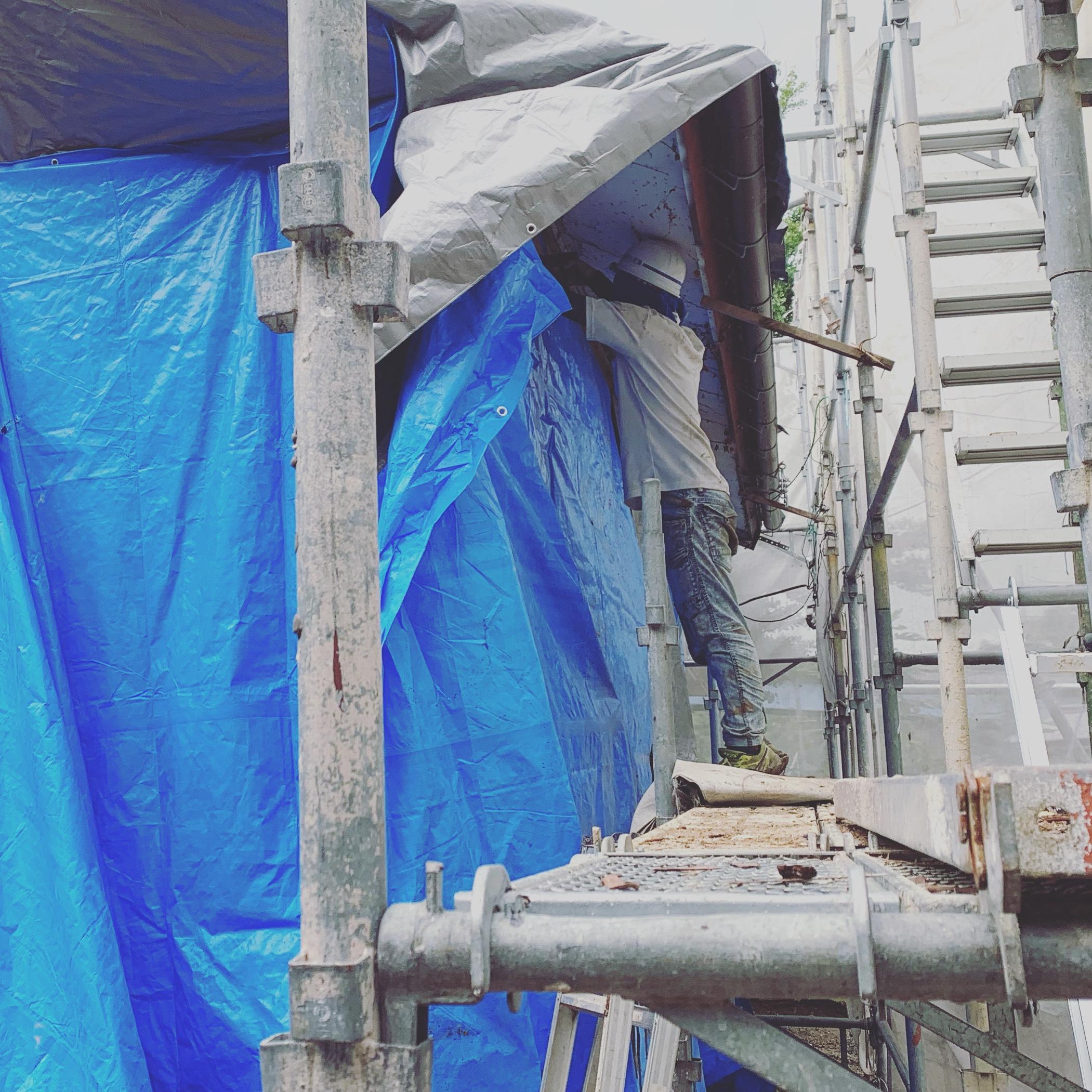 犬山市 リフォームに伴う内部解体工事・外部解体工事