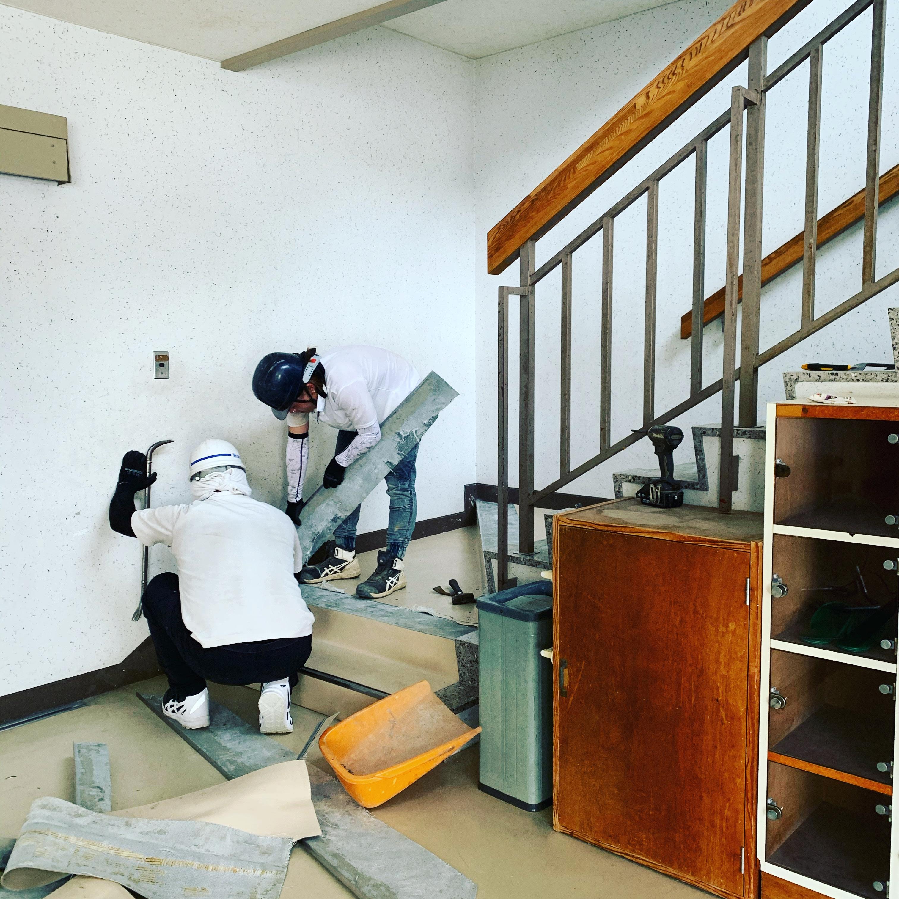 愛知県 小学校体育館改修工事
