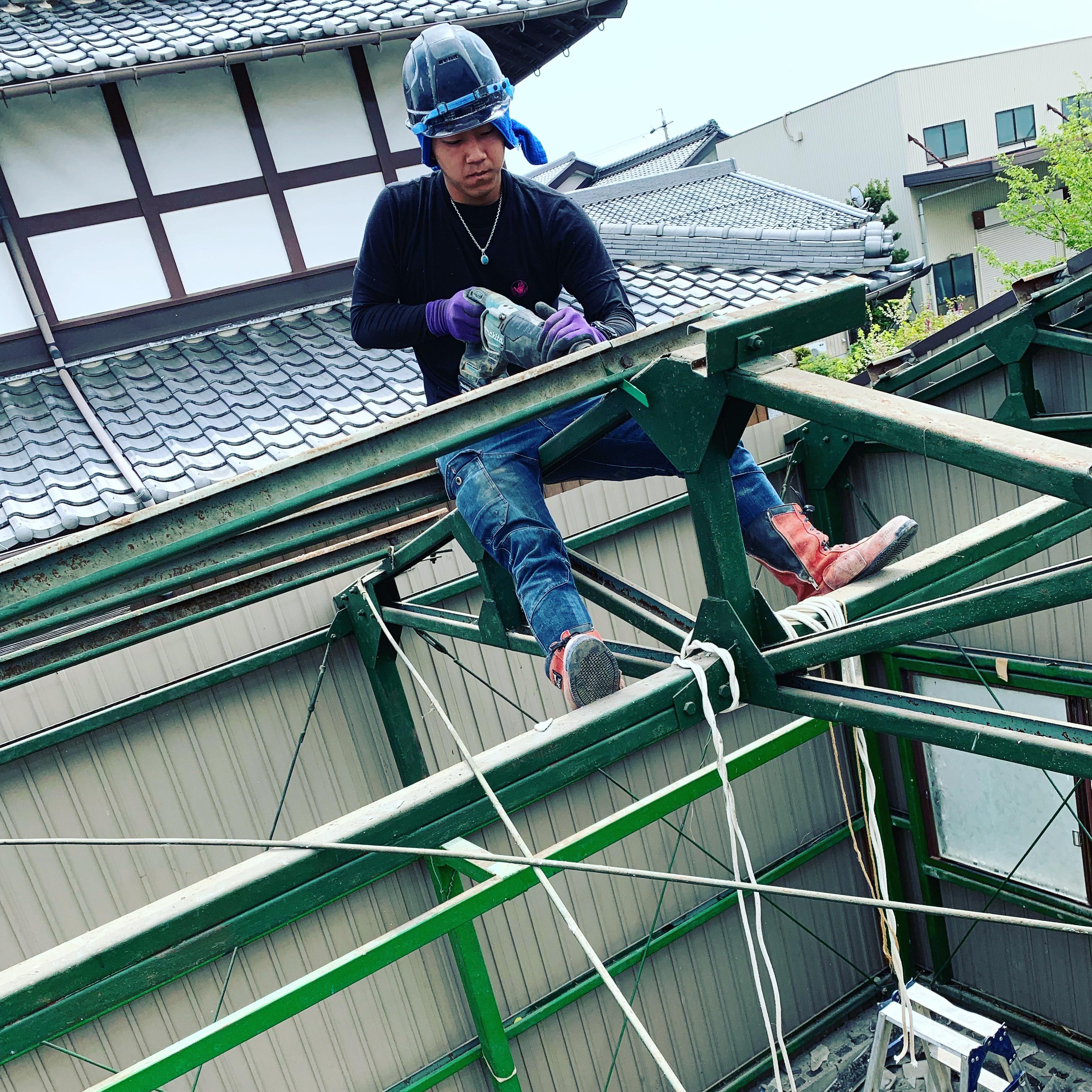 神戸町 車庫バラシ
