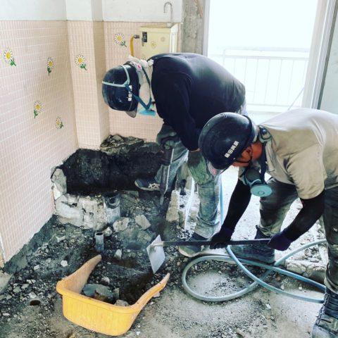 岐阜市 内装解体工事