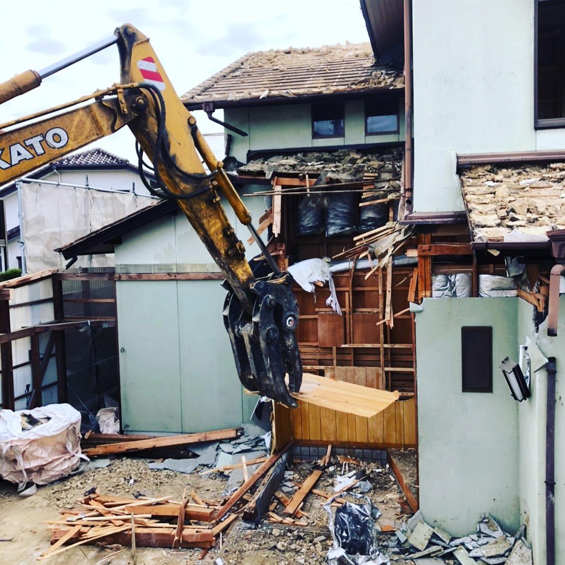 多治見市 木造家屋 解体