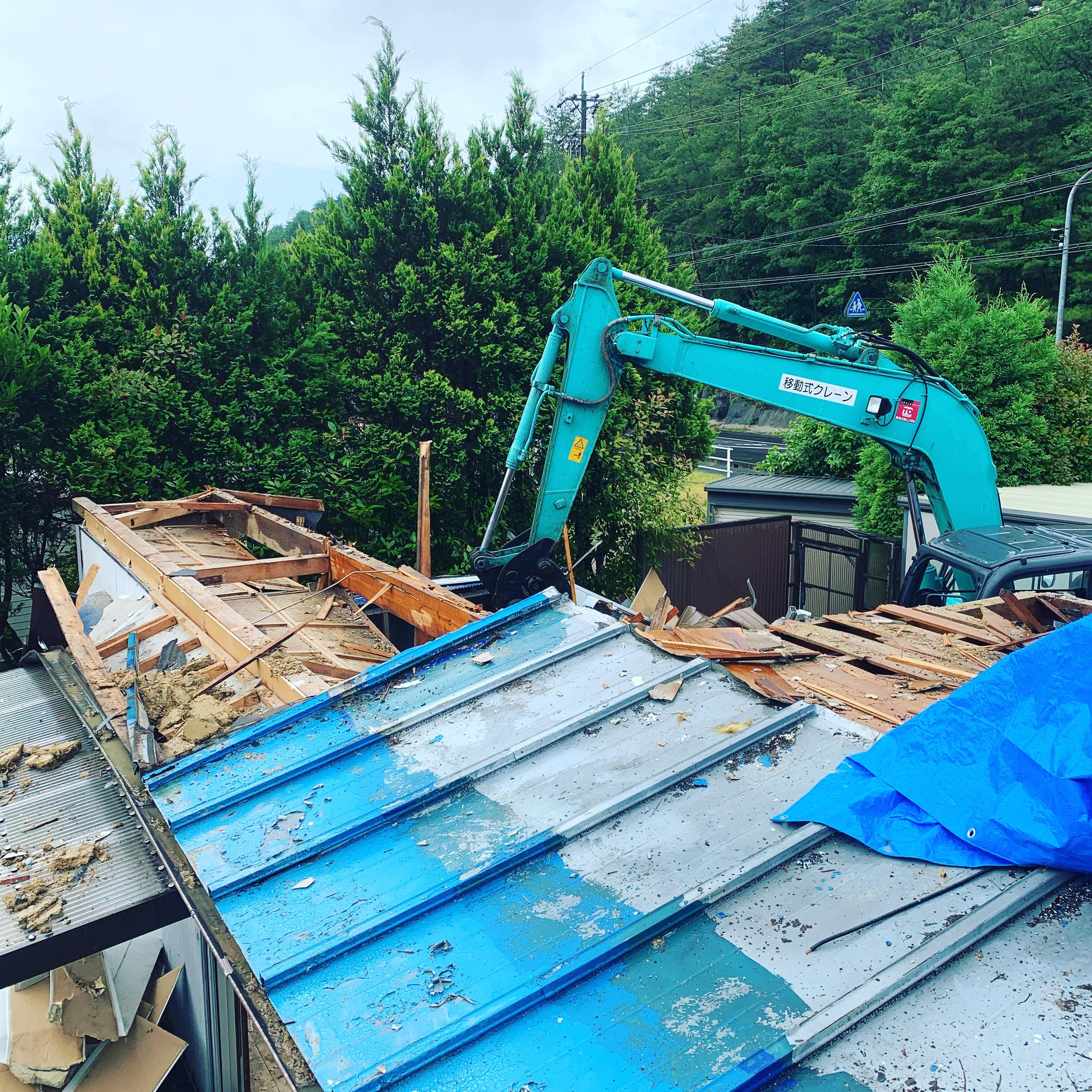 瑞浪市 木造解体