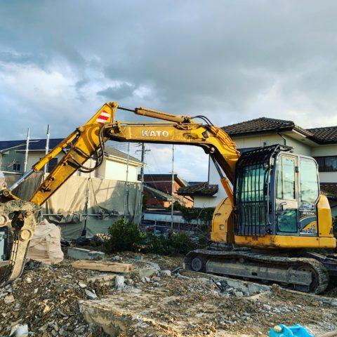 多治見市 木造家屋解体