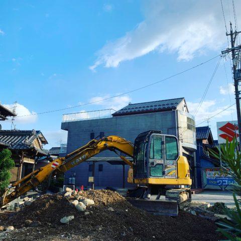 大垣市 木造家屋解体