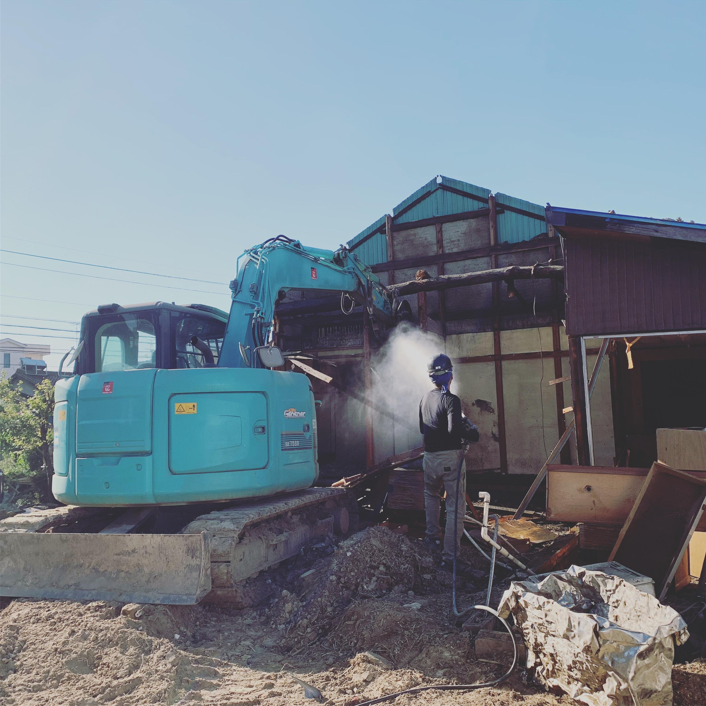 清須市 木造解体