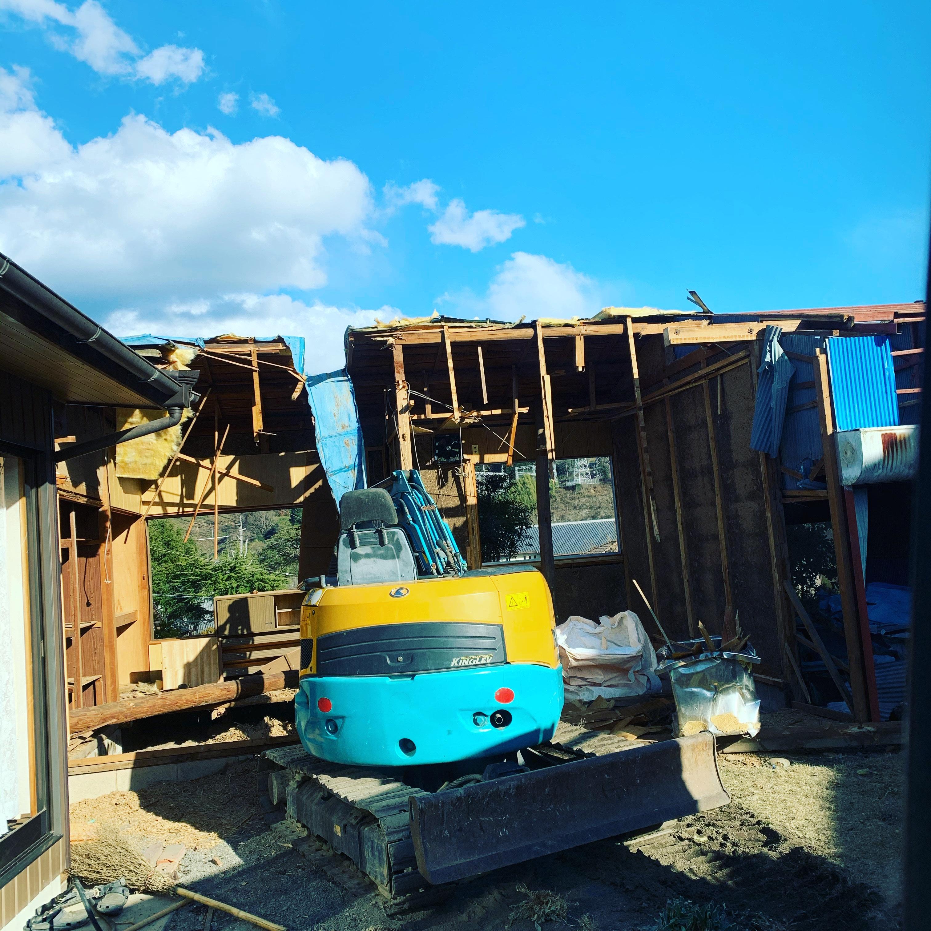 八百津町 木造解体完了