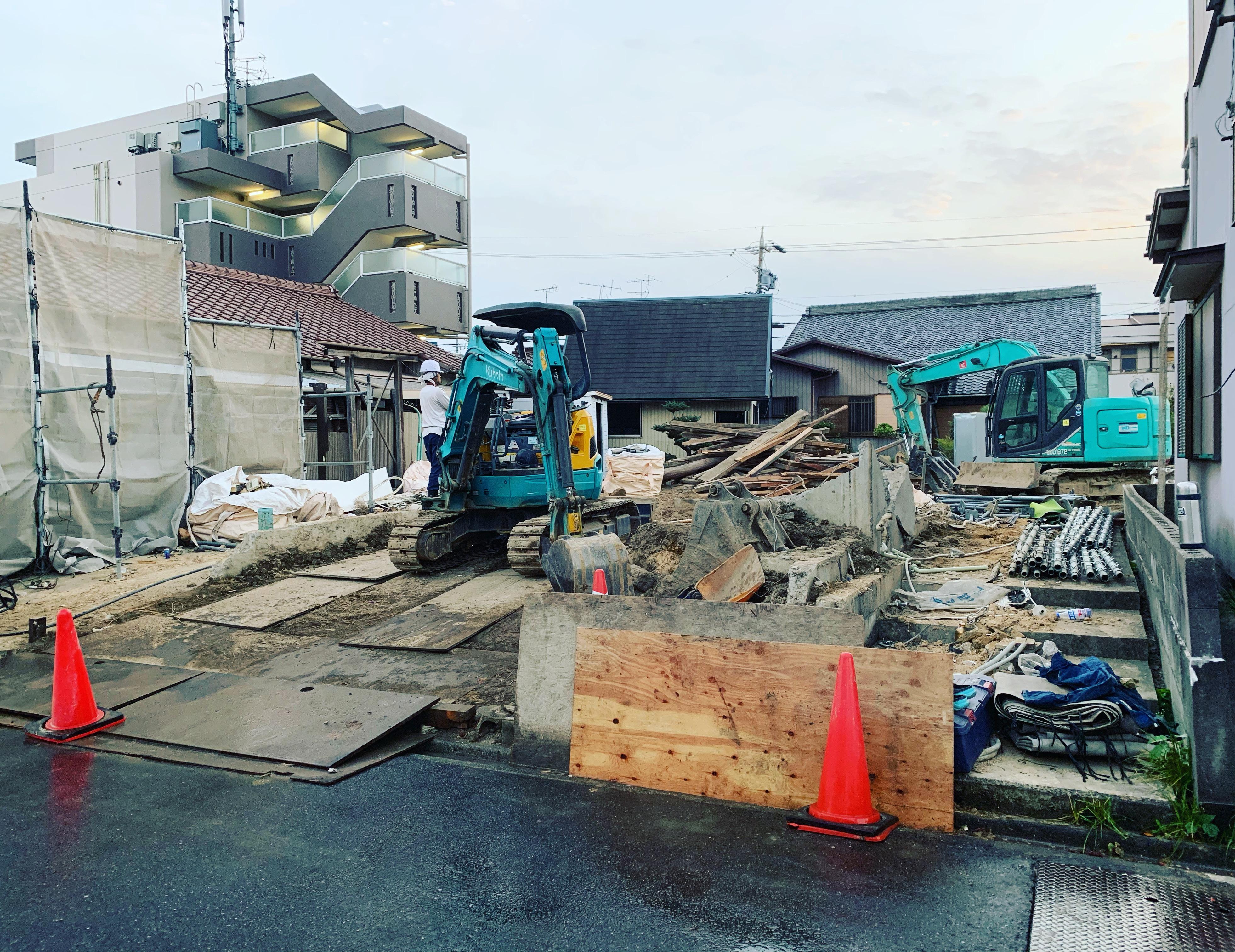 清須市 木造解体工事