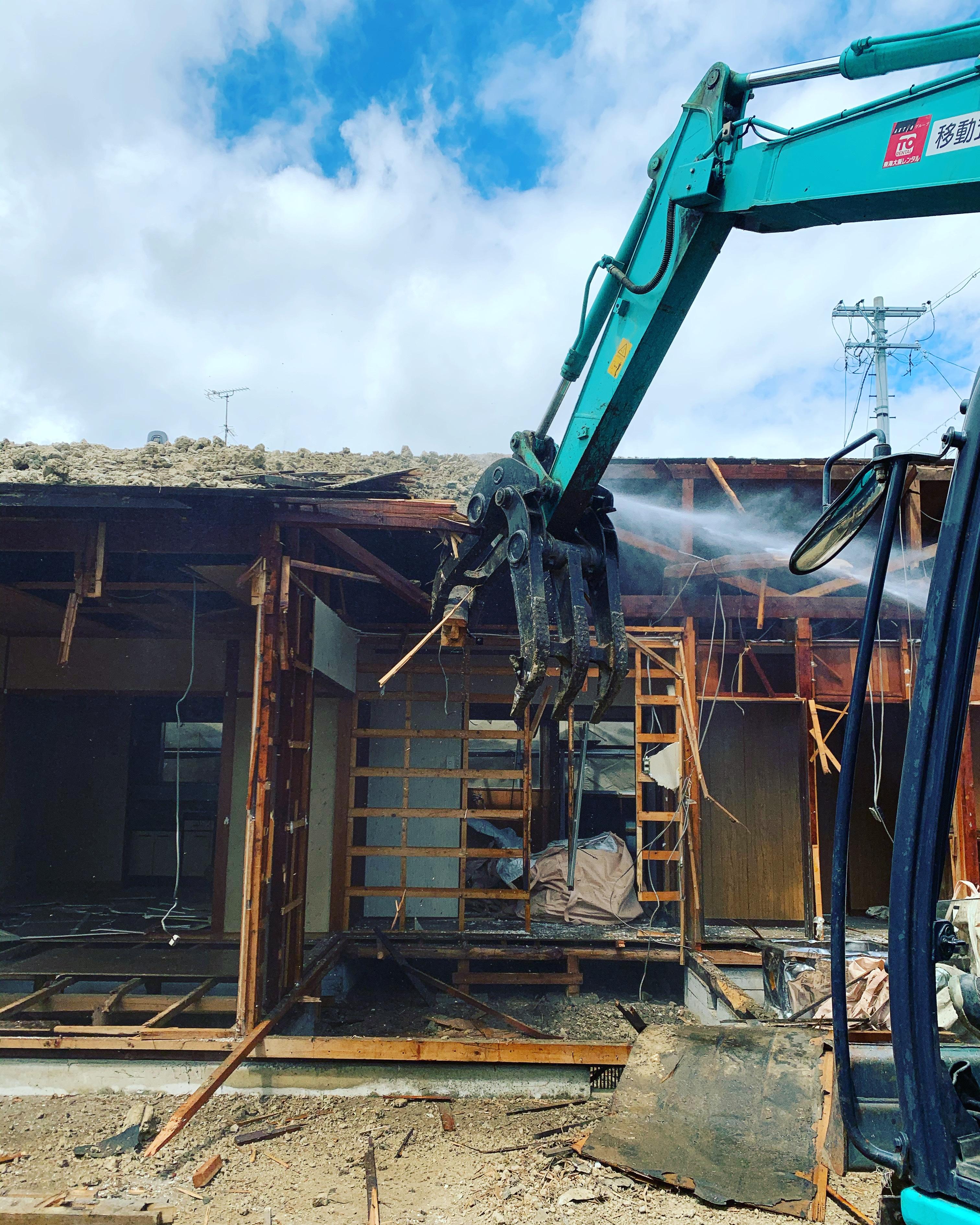 羽島市 木造家屋解体