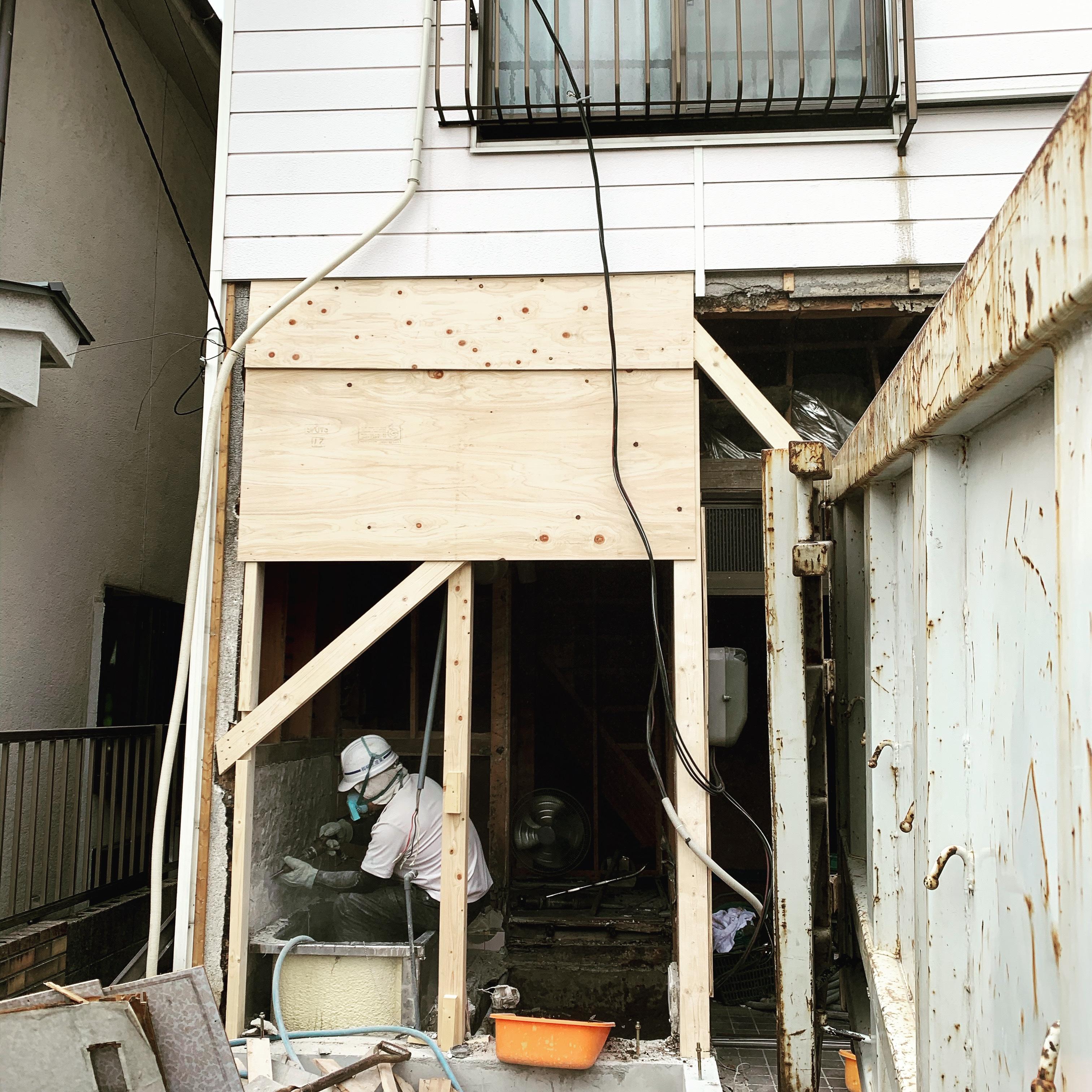 岩倉市 改修工事