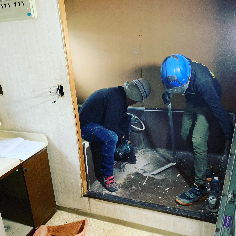 犬山市 ユニットバス解体工事