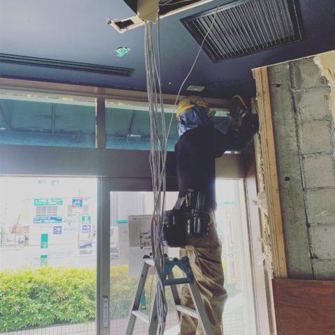 熱田区 店舗 解体2