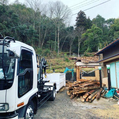 井深町 木造解体工事