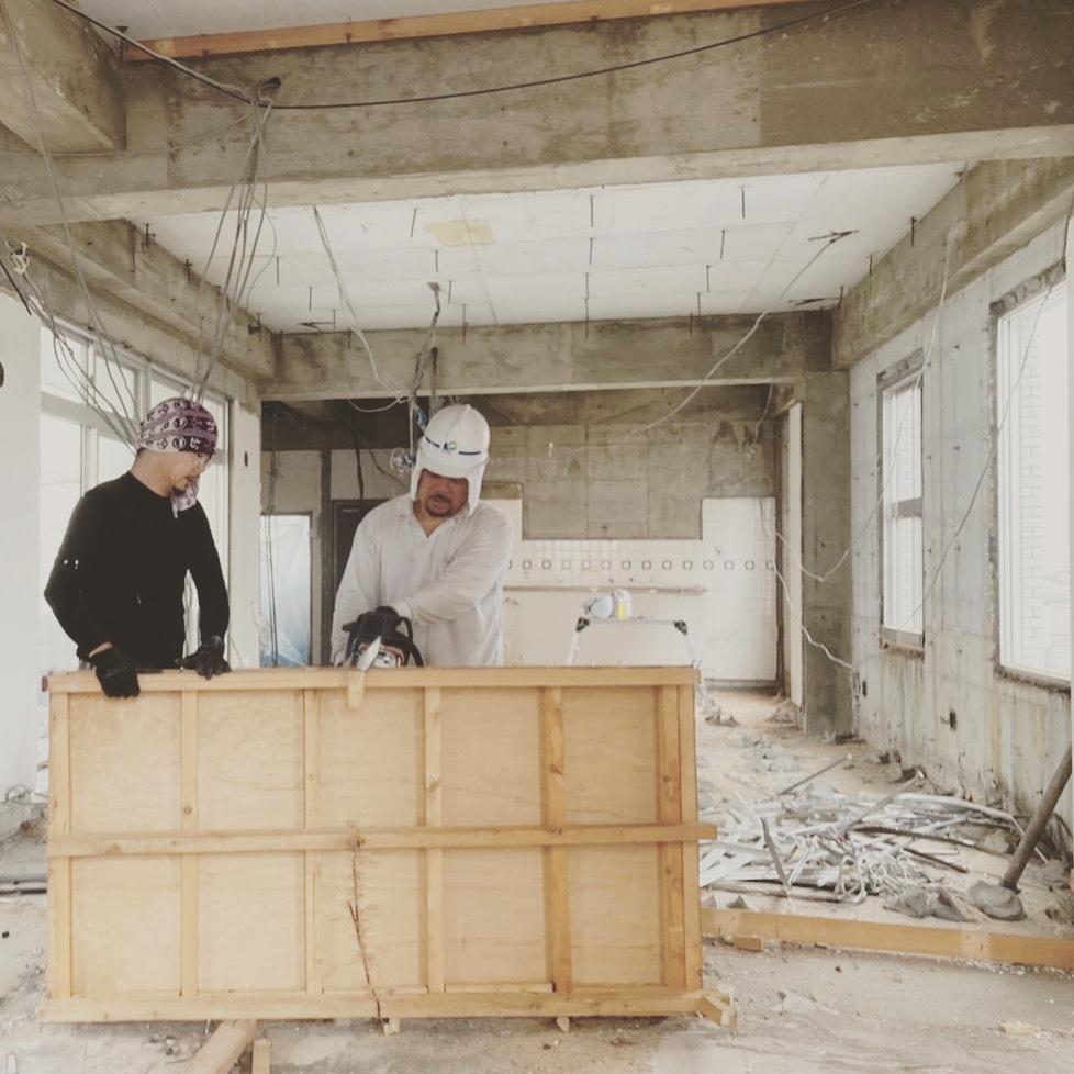 一宮市 ビル内部解体