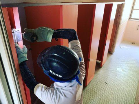 洞戸小学校 トイレ改修工事