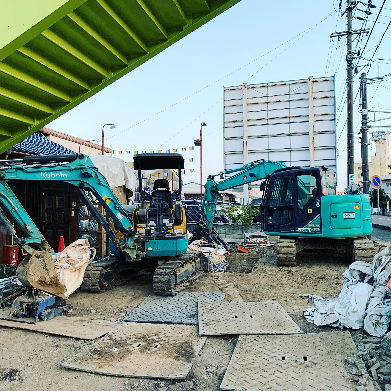 愛知県清須市 解体工事