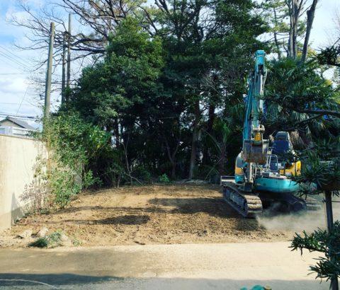 愛知県海部市 木造解体工事