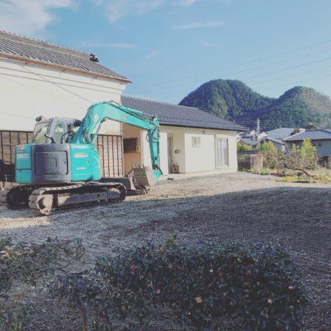 美濃市 木造家屋解体二次工事