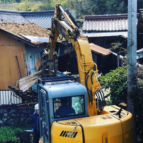 八百津町 木造解体