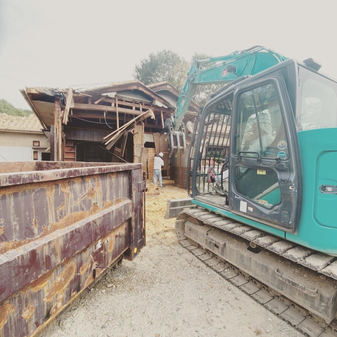 多治見市 木造解体工事