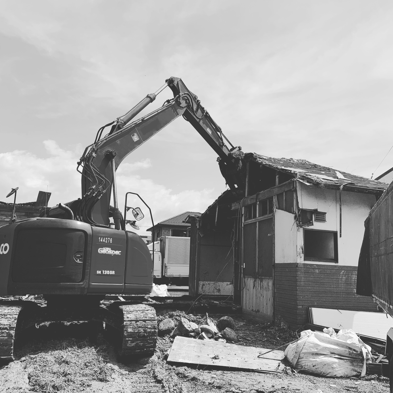 関市西本郷通 木造解体