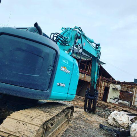 関市 木造家屋解体