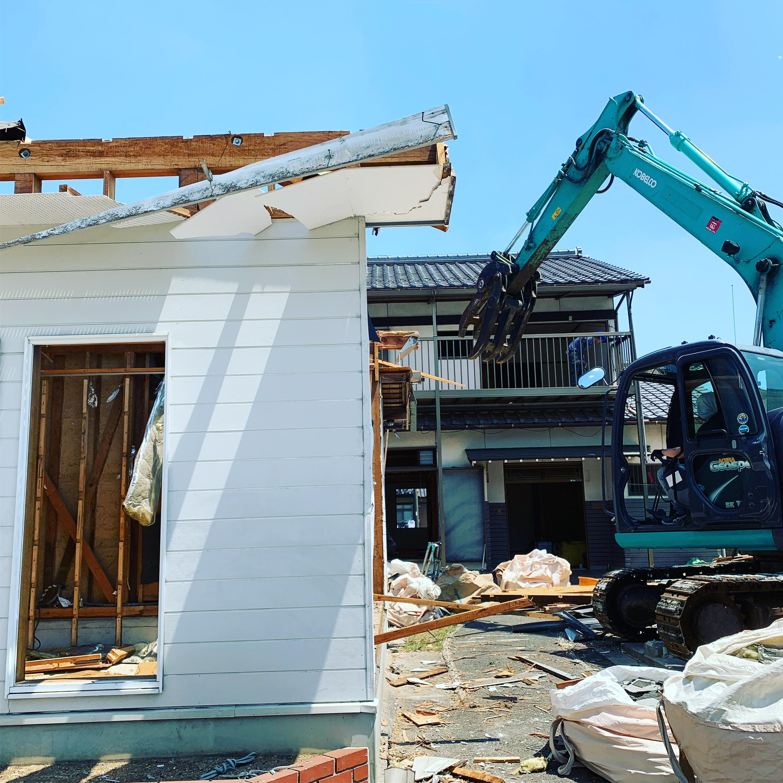 関市 西本郷通 木造解体
