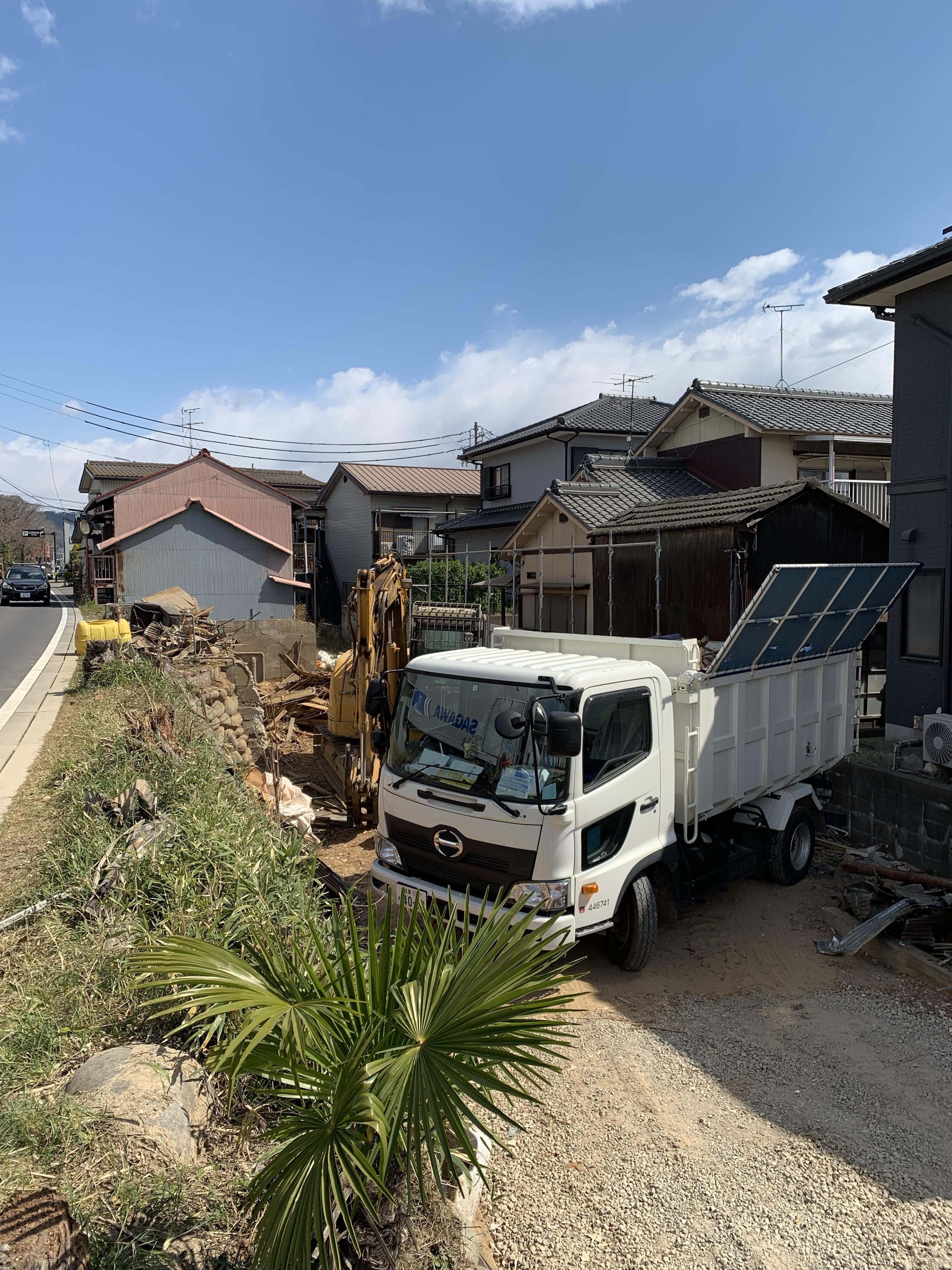 犬山市木造解体