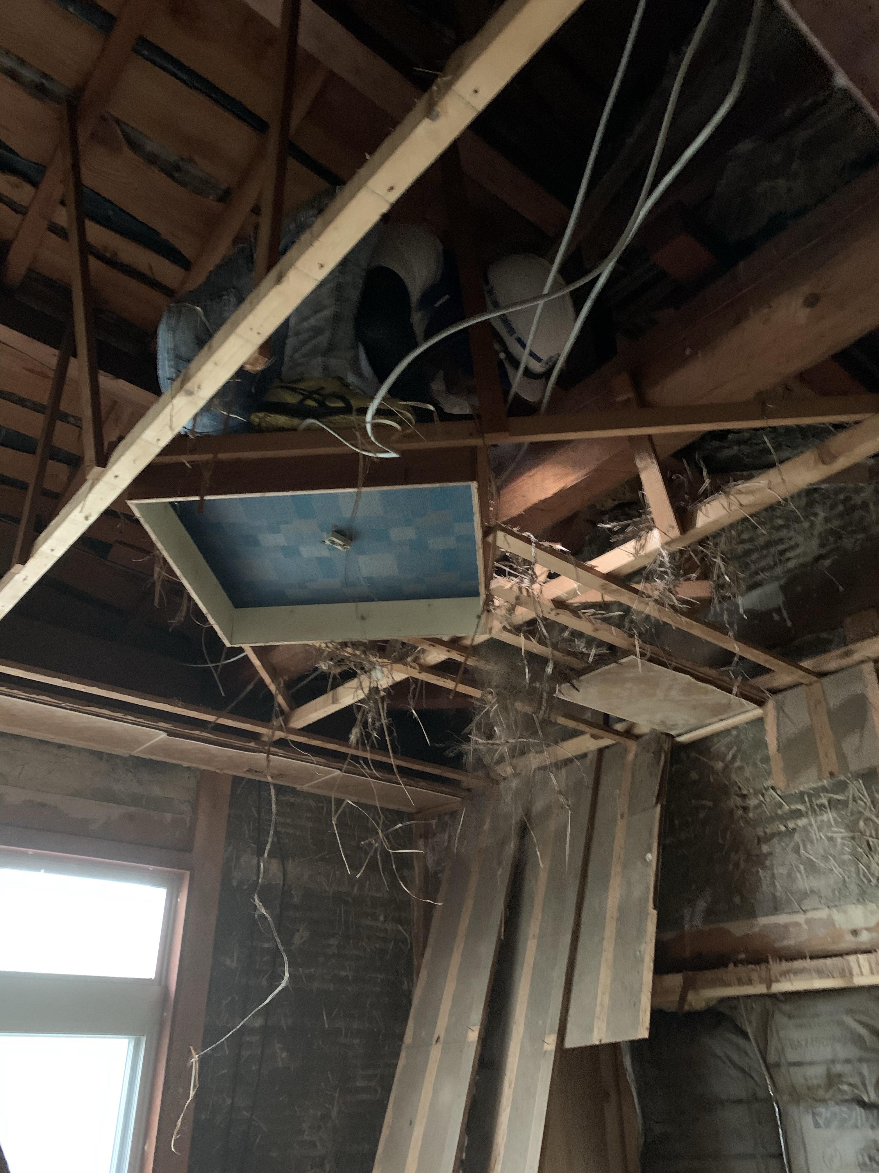 犬山市 改装工事 内部解体