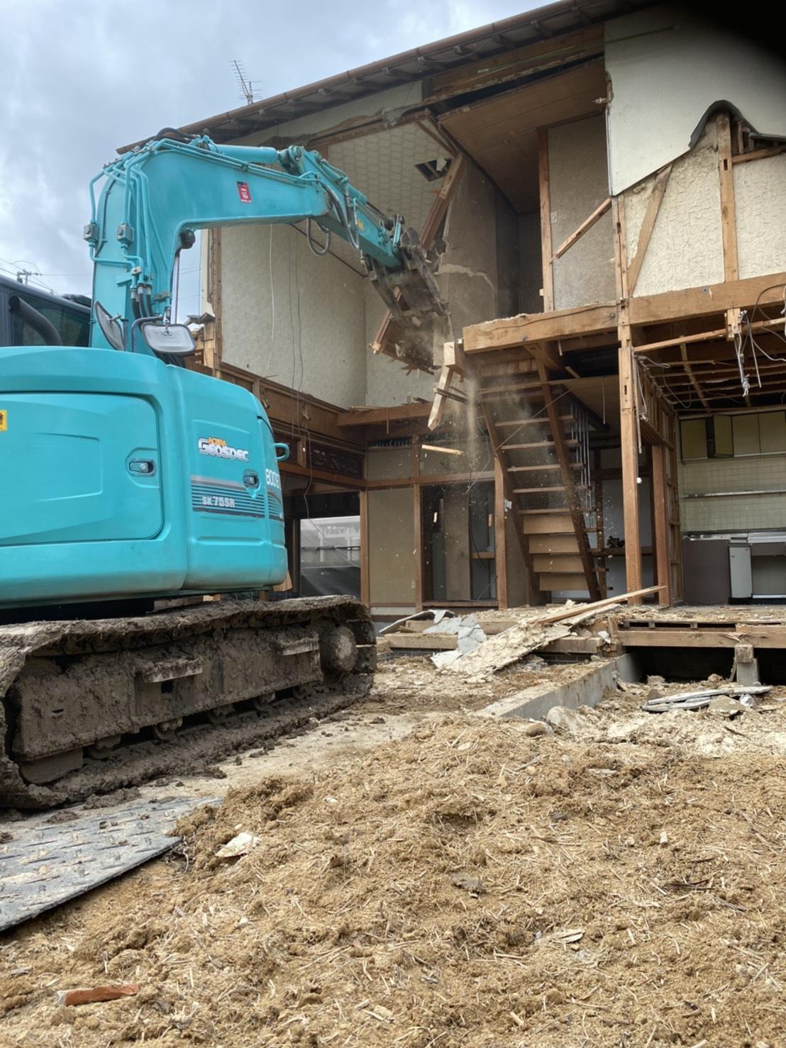 関市 木造二階建 解体
