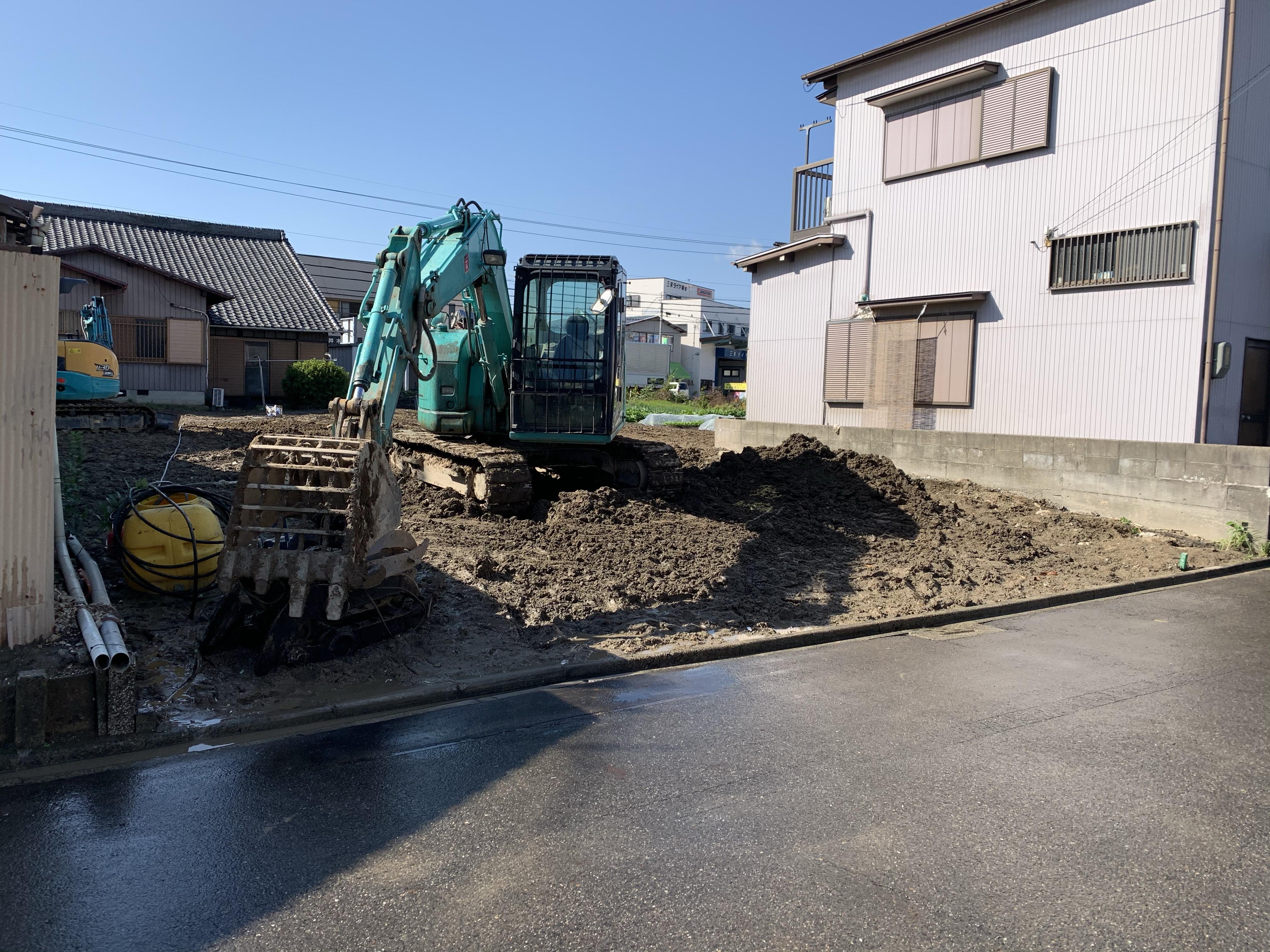 清須市 建物解体工事