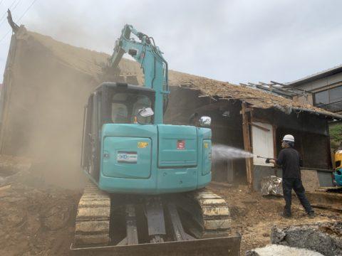 犬山市 木造家屋解体