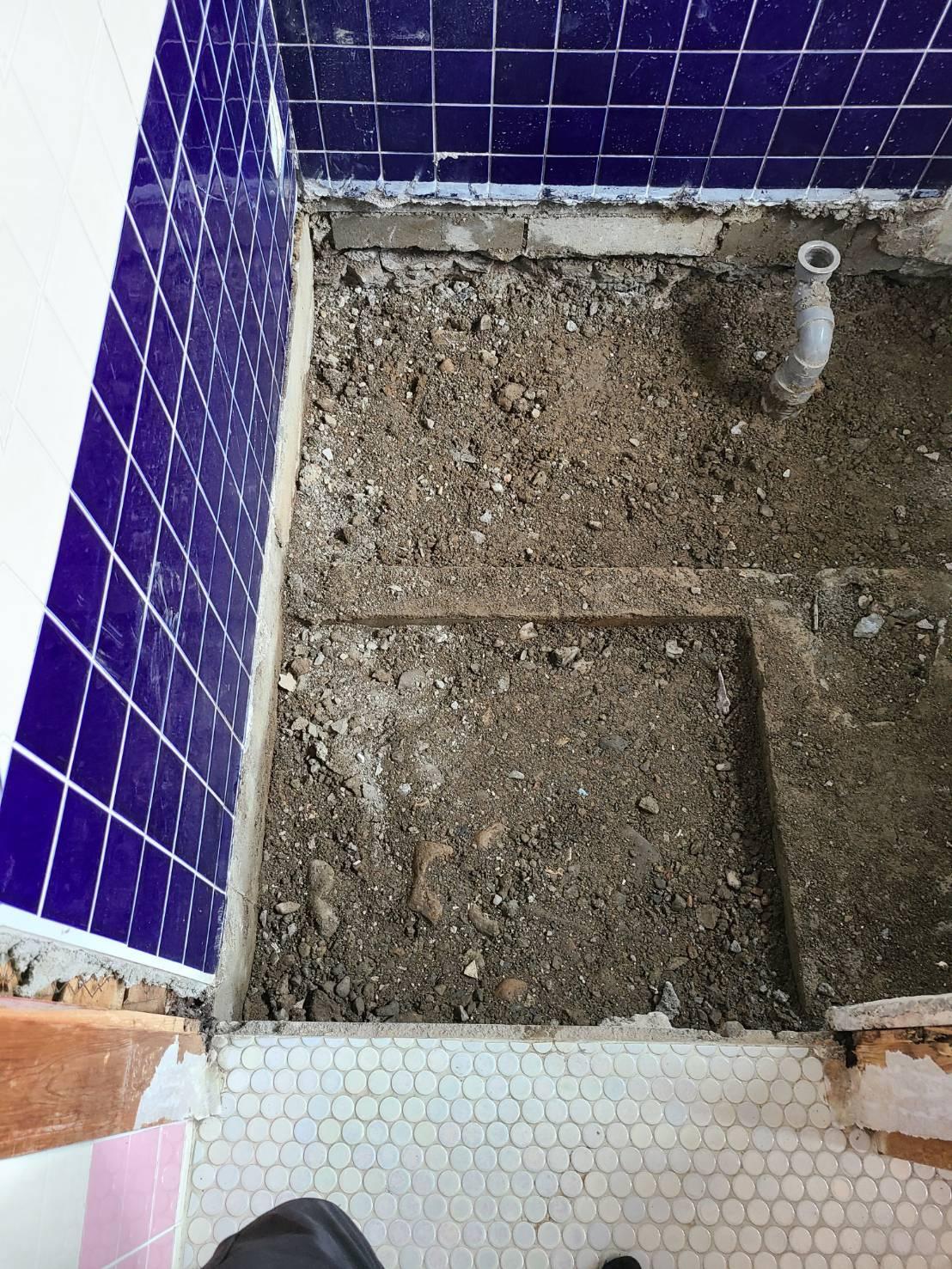 岐阜県美濃市某所 浴室浴槽改修工事および外構ブロック塀解体工事